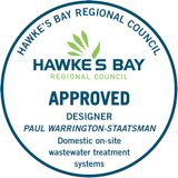 Hawke's Bay Regional Council Approved Designer